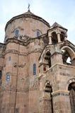 Église arménienne Achdamar dans l'†«Van, Turquie d'Anatolie Images stock