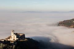 Église Assisi du St Francis Image libre de droits