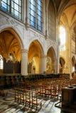 Église atholic de ¡ de Ð de St Germain d'Auxerre à Paris, France images libres de droits
