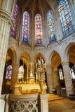 Église atholic de ¡ de Ð de St Germain d'Auxerre à Paris, France photo libre de droits