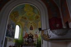 Église au Belarus Photo stock