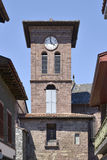 Église au Saint-Jean-Pie-De-port dans les Frances Photographie stock libre de droits