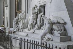 Église augustine, Vienne Monument à l'archiduchesse Marie Christine dans Augustinerkirche photos libres de droits