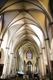 Église autrichienne avec une lumière molle Photos stock