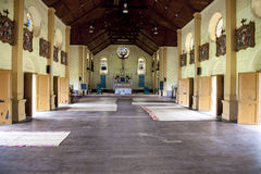 Église aux Fidji Images libres de droits