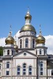 Église avec le dôme d'or Photographie stock libre de droits