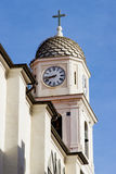 Église avec une tour de bel dans Sanremo 2 Images stock