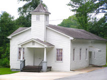 Église baptiste 2 d'Eastatoe Images libres de droits