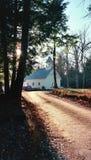 Église baptiste primitive de crique de Cades Image stock