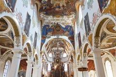 Église baroque dans Biberach, Allemagne image stock