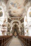 Église bavaroise baroque Image libre de droits