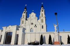 Église blanche Photographie stock libre de droits