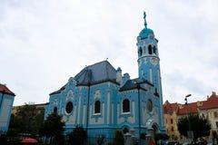 Église bleue de St Elisabeth, Bratislava images stock