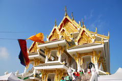 Église bouddhiste Images libres de droits