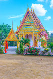 Église bouddhiste Photographie stock