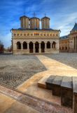 Église célèbre de patriarcat de Bucarest Images stock