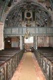 Église caractéristique, Pologne image libre de droits