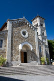 Église, Castellina dans Chianti photos stock