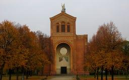 Église catholique à Berlin, Allemagne Image stock