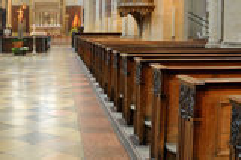 Église catholique Image stock