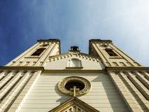 Église catholique photo libre de droits