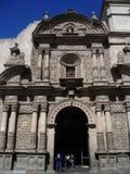 Église catholique antique à Arequipa photo libre de droits