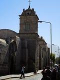 Église catholique antique à Arequipa Image stock