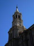 Église catholique antique à Arequipa Image libre de droits