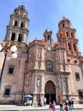 Église catholique au Mexique photos libres de droits
