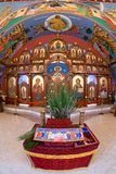 Église catholique bizantine d'annonce photo stock