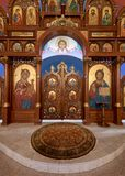 Église catholique bizantine d'annonce photos libres de droits