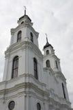 Église catholique blanche Images libres de droits