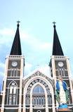 Église catholique, chantaburi, Thaïlande Image stock