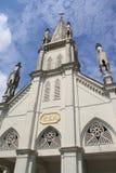 Église catholique chinoise de petite ville Photos libres de droits