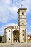 Église catholique dans Iulia alba Images stock
