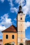 Église catholique dans Murzzuschlag photographie stock