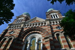 Église catholique dans Tianjin Photos libres de droits