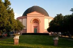 Église catholique Darmstadt de rue Ludwigs Photographie stock