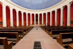 Église catholique Darmstadt de rue Ludwigs Image libre de droits