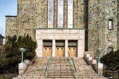 Église catholique de Montréal photographie stock libre de droits
