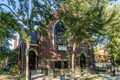 Église catholique de Montréal photo libre de droits
