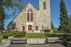 Église catholique de Montréal Image stock