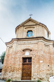 Église catholique de San Silvestro dans Bertinoro en Italie Photos stock