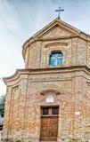 Église catholique de San Silvestro dans Bertinoro en Italie Photographie stock