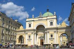Église catholique de St Catherine, St Petersbourg, Russie Image libre de droits