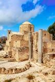 Église catholique de St Paul's dans Paphos, Chypre Image libre de droits