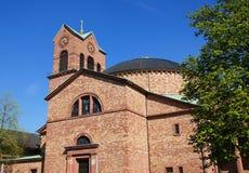 Église catholique de St Stephen à Karlsruhe photographie stock