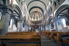 Église catholique en Corée du Sud photographie stock