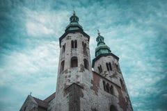 ?glise catholique en Europe Pologne image libre de droits