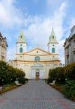 Église centrale des baptistes évangéliques de chrétiens Image libre de droits